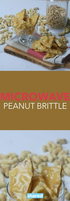 Put your doubts aside about food made in the microwave and give this recipe a try! Microwave Peanut Brittle is super simple, fast and - dare we say it - better than the stove-top version. Unlike a lot of other brittles, this one is light and airy and doesn't get stuck in your teeth. Serve this at your next party for quick, tasty and easy dessert everyone will love.