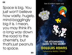 The Hitchhiker's Guide to the Galaxy by Douglas Adams | 46 Brilliant Short Novels You Can Read In A Day