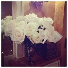 White roses | tumblr