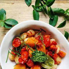 Instagram Feed, Instagram Posts, Roasted Butternut, Gnocchi, Cherry Tomatoes, Chana Masala, Plant Based, Ethnic Recipes, Food