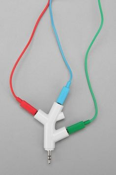 Music Branches Headphone Splitter. This would be so helpful!