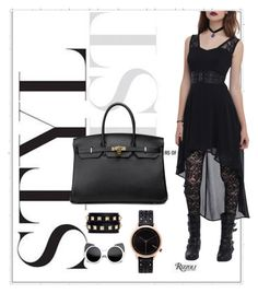 """House of hello BK 40 togo genuine leather"" by houseofhellohk on Polyvore"