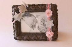 Parlak yıldızlı taç ve bebek bandı