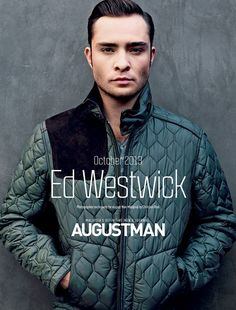 Ed Westwick by Christian Rios for August Man Malaysia