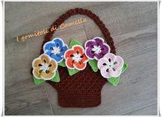 Crochet Potholders, Crochet Hats, Crochet Home Decor, Camilla, Quilling, Crochet Projects, Pot Holders, Flower Arrangements, Crochet Earrings