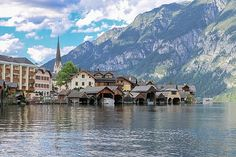 Hallstatt, Austria. So here's the truth, I have to thank Pinterest for putting me inside a postcard. Almost 2...