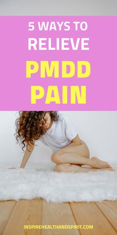 Are you experiencing painful periods every month? If so, you may be suffering from PMDD. Learn how you can find relief from this discomfort. #pmddrelief#pmddtreatment#pmddsymptomstips#pms#pmsrelief Women's Health, Health And Wellness, Pms Remedies, Premenstrual Dysphoric Disorder, Emotional Rollercoaster, Wellness Products