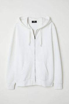 huge selection of b5bf3 d3468 H M Hooded Jacket Regular fit - White