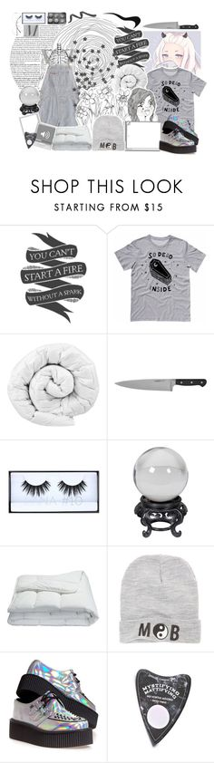 """Grey Collage Contest"" by amberishdead ❤ liked on Polyvore featuring Native State, Gap, Brinkhaus, Winco, Swatch, Huda Beauty, Frette, Married to the Mob, T.U.K. and LunatiCK Cosmetic Labs"