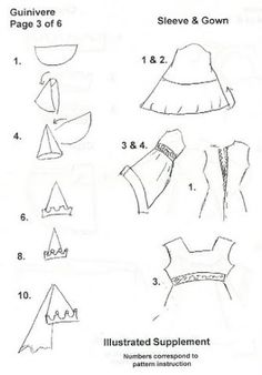 Foto: Number Patterns, Gowns With Sleeves, Album, Illustration, Clothes, Pictures, Patterns, Dresses With Sleeves, Outfits