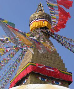 Boudhanath Stupa, Kathmandu, Nepal, November 2007