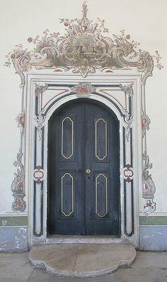 Door, Istanbul, Turkey