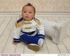 Bebés majestuoso príncipe azul