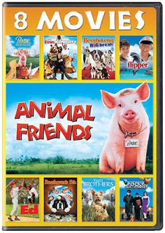 Confessions of a Frugal Mind: Animal Friends 8 Movie Collection on DVD  $4.99 Eddie Griffin, Kathy Griffin, Universal Studios, Tom Poston, Faith Ford, John Michael Higgins, Evan Almighty, James Cosmo, Jack Warden