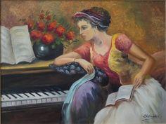 Quadro - Pianista