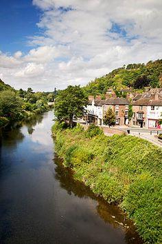 River Severn at Ironbridge, Shropshire