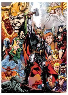 Thor by dichiara.deviantart.com on @DeviantArt
