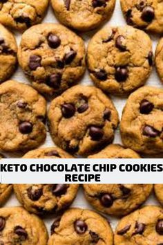 Keto chocolate chip cookies low carb keto diet ketogenic diet recipes – Picture World Keto Chocolate Chip Cookie Recipe, Keto Chocolate Chips, Cookie Recipes, Chocolate Cookies, Ketogenic Recipes, Low Carb Recipes, Diet Recipes, Ketogenic Diet, Metabolic Diet