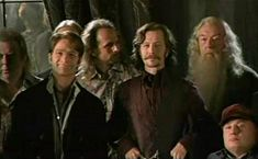 Albus Dumbledore with some of the members of the original Order - Harry Potter Wiki