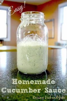 #ad Chicken Gyro with Cucumber Sauce recipe #NatureRaised #cbias