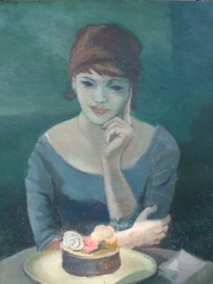 Vogtschmidt Mid-Century Painting, DAC Collection - Donald Art Company Collection