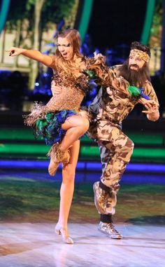 What Did Willie Robertson Really Think of Sadie's Wild DWTS Outfit?  Sadie Robertson, Mark Ballas, Dancing with the Stars, DWTS
