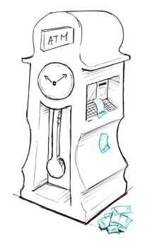 Time is money Time Is Money, School, Pools, Money, Primary Education, Silver, Earn Money, Deutsch, Kunst