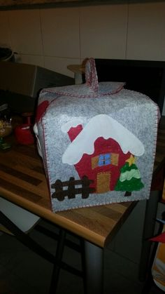 Portapanettone Country, Gifts, Cabanas, Xmas, Felting, Cooking, Presents, Rural Area, Country Music