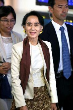 Aung San Suu Kyi visits Japan