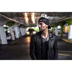 "@stevenwlvs on Instagram ""Garage hangs @bodaskins"" #bodaskins #leatherlove"