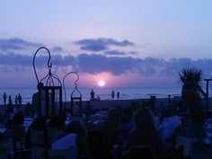 Where the sun kisses the sea