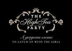 The lia sophia High Tea Party  What a fun idea. Hosting a small tea gathering is a simple and elegant way to get the gals together. Set the table(s) with vintage linens and tea cups and saucers. The cups and saucers don't have to match. Provide a large selection of tea bags so guests can choose what they prefer, hot water, lemon, cream and milk. Set out some tea sandwiches, mini cakes and cookies for guests to nibble on. Request that the guests wear hats for a fun and festive feel.