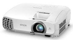 Epson Home Cinema 2030 LCD 3D Projector - Front/Side View