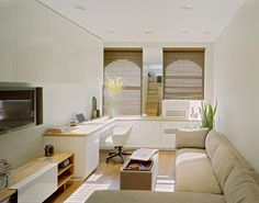 Shoebox Apartments Some Folks Are So Brilliant With Interior Design Office Tv Small Ideas