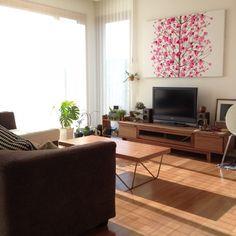 観葉植物/北欧/マリメッコ/IKEA/フクラ/NO GREEN NO LIFE…などのインテリア実例 - 2015-01-24 00:08:48 | RoomClip(ルームクリップ)