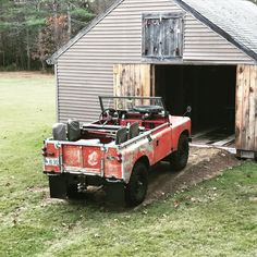 """233 Likes, 6 Comments - Todd (@ksmtaw) on Instagram: """"1966 88"""" Land Rover 1966 88"""" #landrover #landroverdefender #landroverdiscovery #maine…"""""""