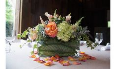 The East End event—held at chic farm-to-table restaurant Topping Rose House—was hosted by DuJour CEO and founder Jason Binn, former NYC police commissioner Ray Kelly and Just Drew designer Andrew Warren and was presented by EAST, Miami. Pictured: Stunning floral arrangements by Jack & Rose Florist.