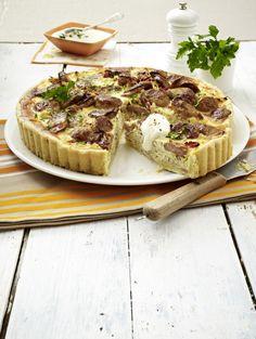 Unser beliebtes Rezept für Bratwurst-Sauerkraut-Quiche und mehr als 55.000 weitere kostenlose Rezepte auf LECKER.de.