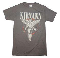 New Slate Gray Nirvana In Utero Band Concert Shirt Small-XL Men's Women's  #SP #Concert