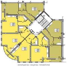 Luxury House Plans, Dream House Plans, Building Layout, Building Design, Residential Building Plan, Hotel Floor Plan, Architectural Floor Plans, Appartement Design, Apartment Floor Plans
