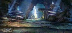 fatecraft Cave by *TylerEdlinArt on deviantART