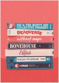 Deadverse - Without Maps - Bonehouse - Kaddish | Design: Daniel Stewart