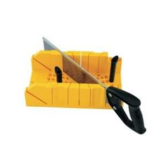 Stanley Deluxe Miter Box with Saw 20-600D at The Home Depot - Mobile