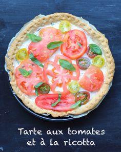 Wird kalt gegessen: Tomaten-Ricotta Tarte - zum Rezept.