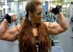 Jacked female bodybuilder Lindsay Mulinazzi started building her insanely muscular 17 inch biceps at 11 years old!