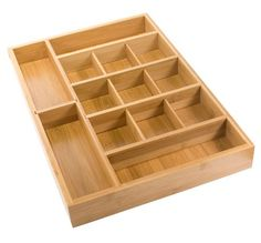 For kitchen?  Bamboo Adjustable Drawer Organizer available from Storables.com