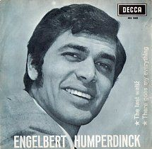 45cat - Engelbert Humperdinck - The Last Waltz (El Ultimo Vals) / There Goes My Everything (Alli Va Mi Vida) - Decca - Spain - ME. 340