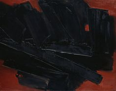 Pierre Soulages – 17 March 1960, 1960, Oil on canvas, 130.2x162.6 cm | The Art Institute of Chicago