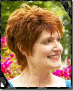short haircuts for women with fine hair - Google Search