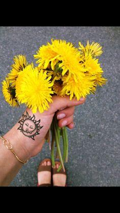 Sun/Moon tattoo